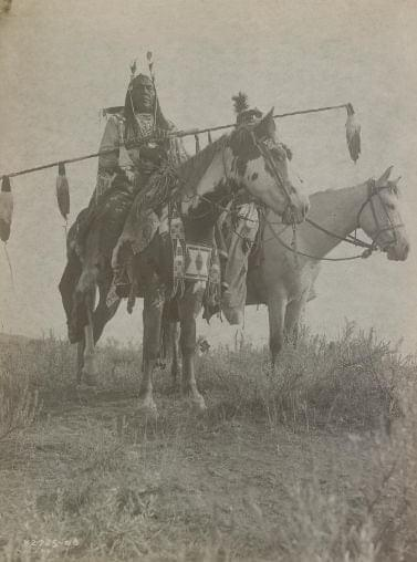Mounted warriors from the plains nations posed a serious threat to the Nimiipuu