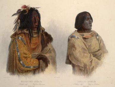 The Blackfoot Confederacy were the Nimiipuu's most serious rival in the 1800s