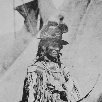 Chief Looking Glass, the military leader of the Nimiipuu resistance