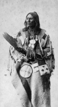 Chief Crowfoot of the Blackfoot Confederacy