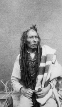 Cree Chief Poundmaker, who was convicted of treason despite never being a Canadian citizen