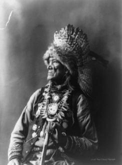 A Chief of the Haudenosaunee