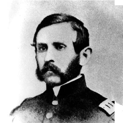 William Fetterman, the leader of the doomed patrol at the Battle of Fort Phil Kearny